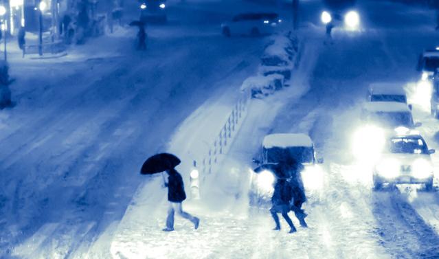 北海道を冬靴で歩く