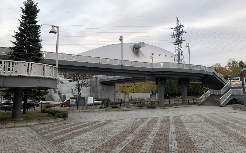 札幌ドーム歩道橋