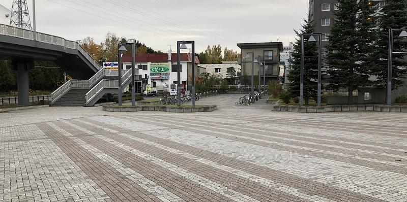 札幌ドーム駐輪場