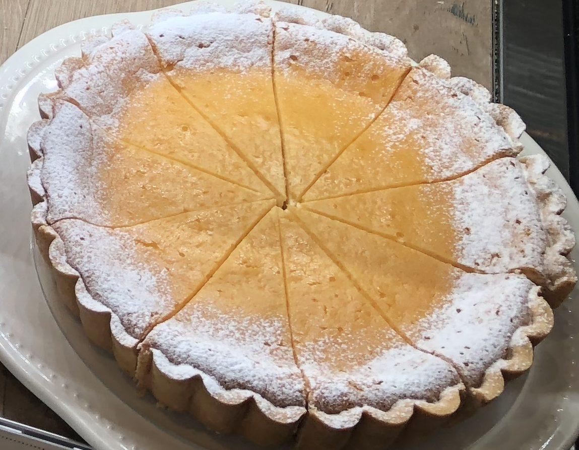 フルーツケーキファクトリー北海道産クリームチーズのタルト