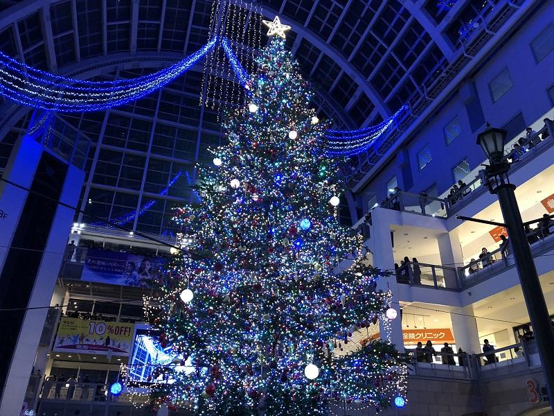 サッポロファクトリークリスマスツリー点灯式