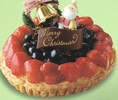 フルーツケーキファクトリークリスマスタルト