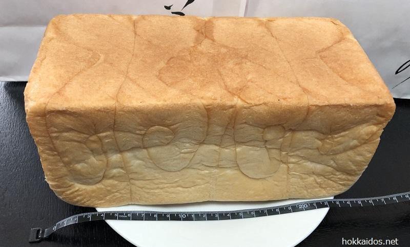 乃が美生食パン大きさ