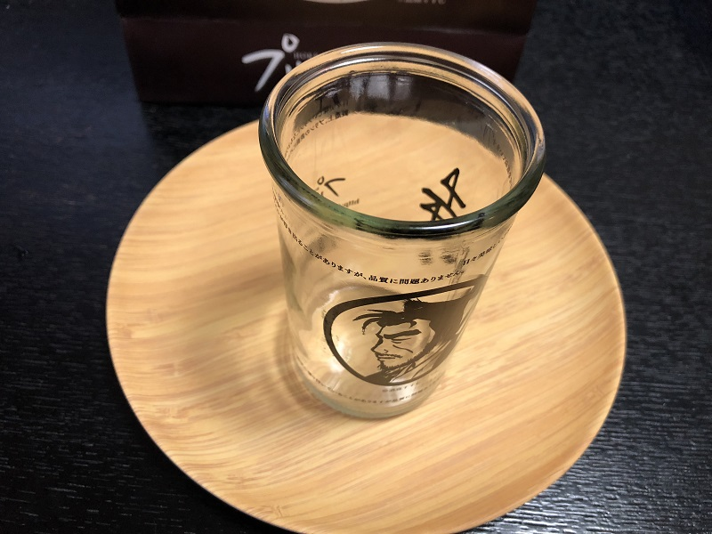 侍プリン空き瓶
