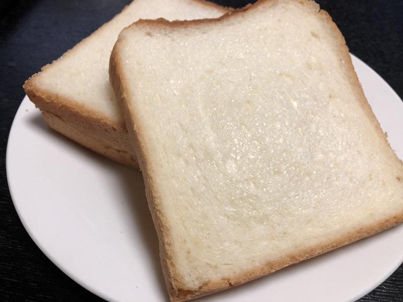 夜のしげぱん食パン中