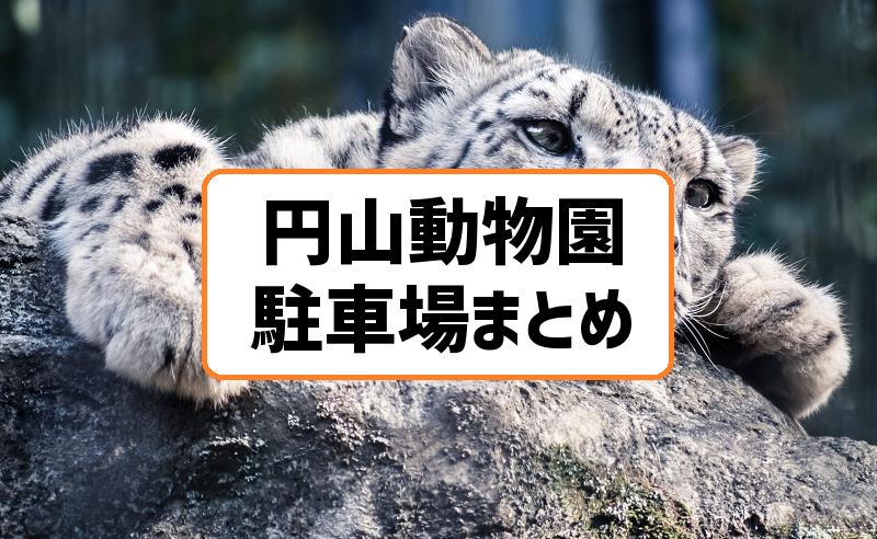 円山動物園の駐車場