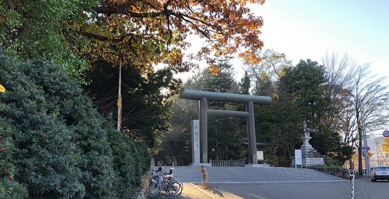 北海道神宮アクセスと行き方
