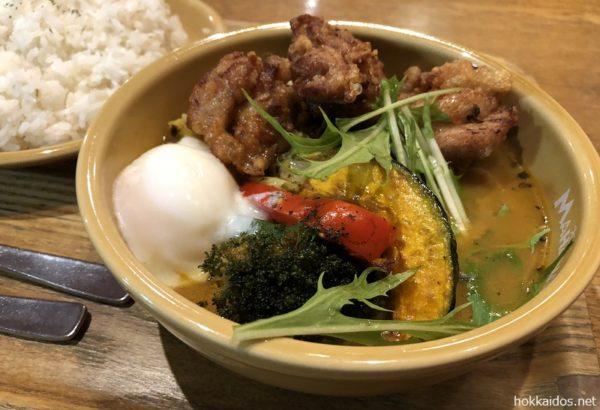 スープカレーMAHANAモチコザンギ