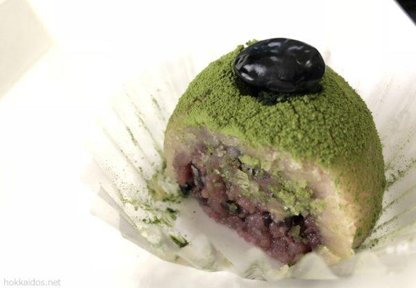 増田おはぎ抹茶おはぎ