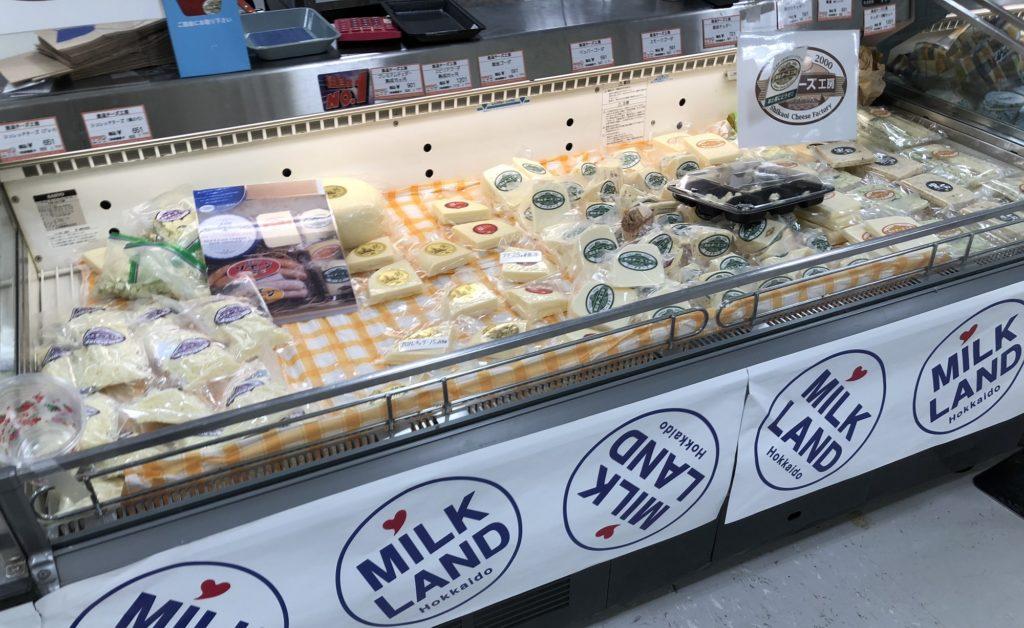 札幌東急ミルク&チーズフェア201チーズ工房