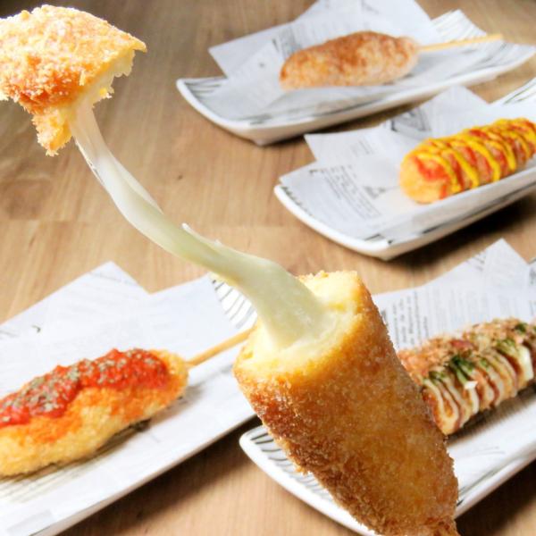 食べスタグリルチーズハットク