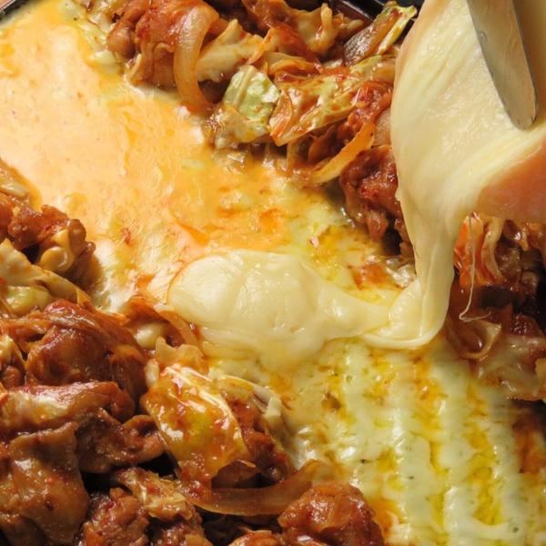 食べスタグリルラクレットタッカルビ