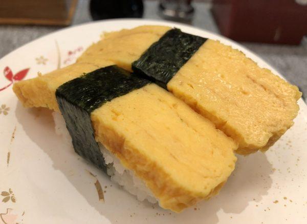 回転寿司くるくる寿司たまご