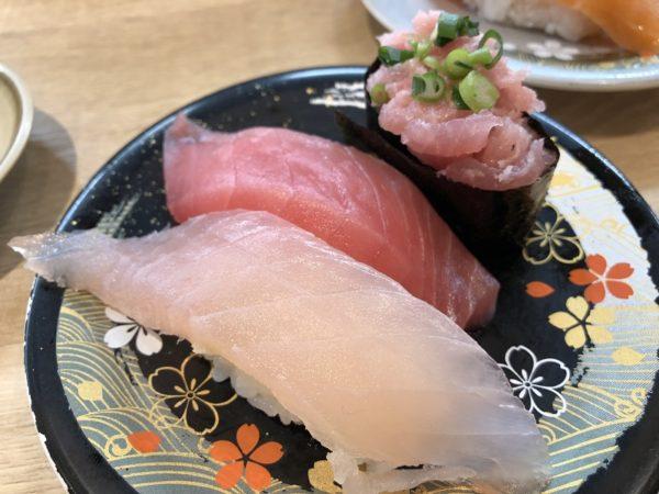 回転寿司四季彩亭まぐろ