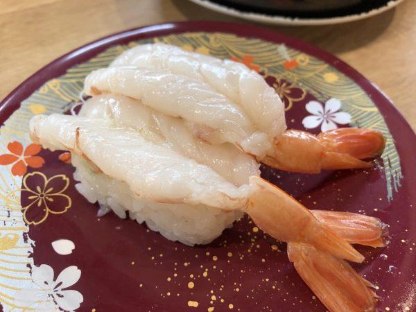 回転寿司四季彩亭大エビ