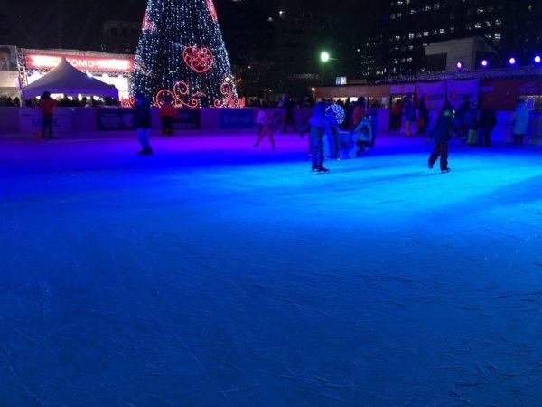 札幌雪まつりスケートリンク