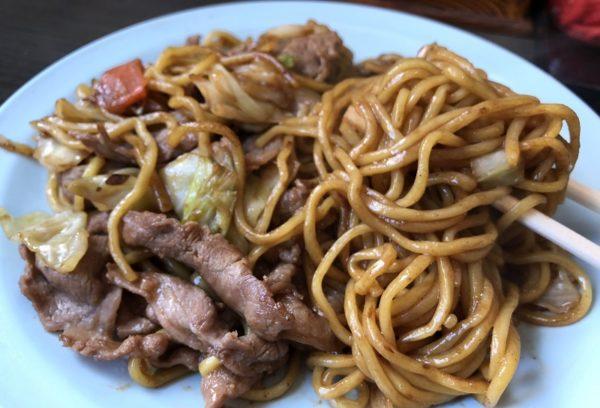 焼きそばランラン麺