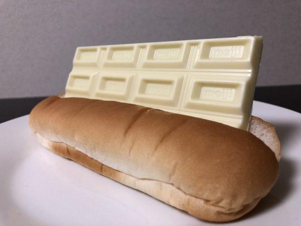 ホワイト板チョコパン