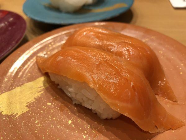 回転寿司活一鮮サーモン