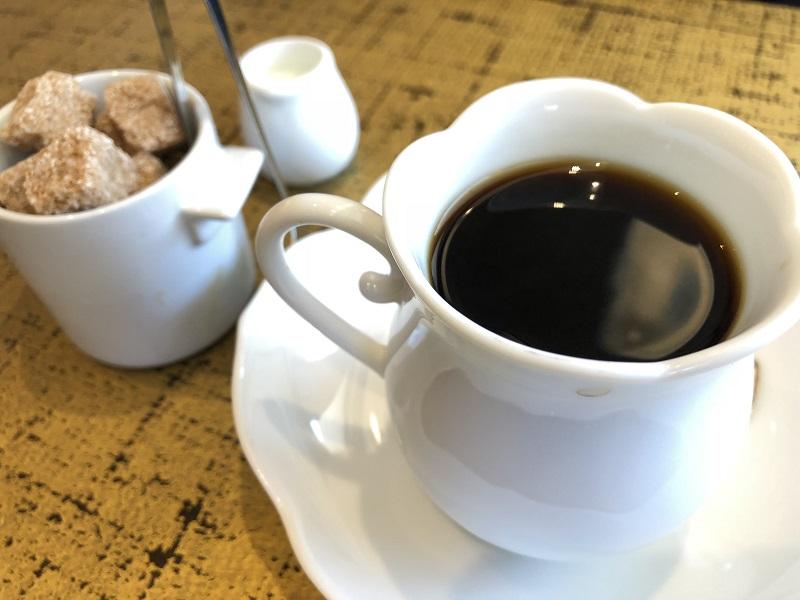 椿サロンホットコーヒー