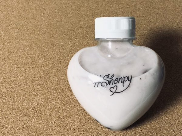 Shonpyハートボトル・タピオカイチゴミルク
