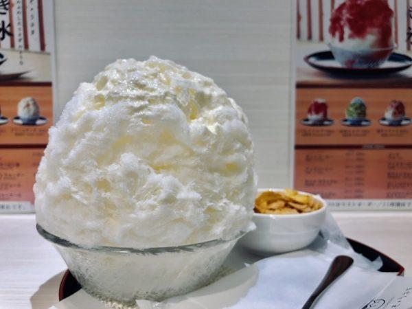 えぞうさぎクリームチーズかき氷