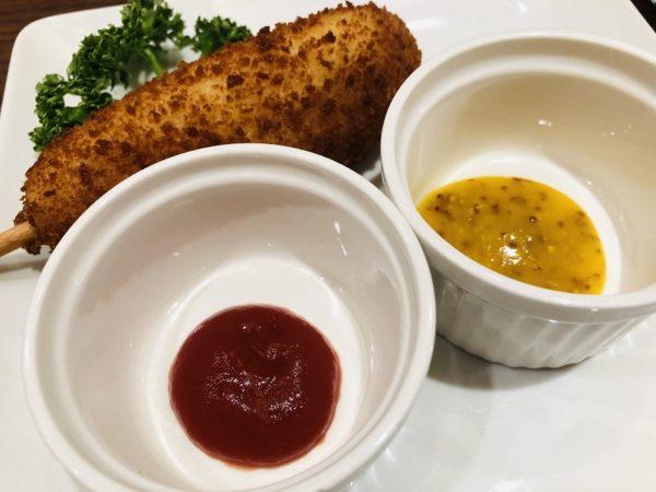 おじょり札幌エスタチーズハットグソース