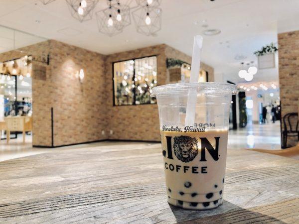 ライオンコーヒータピオカコーヒー