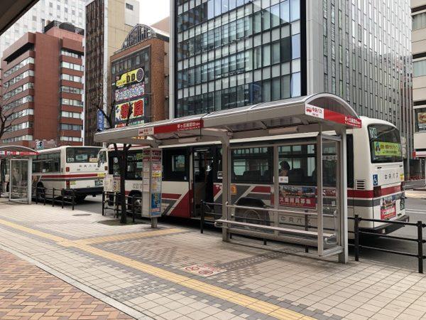 中央バス札幌駅前