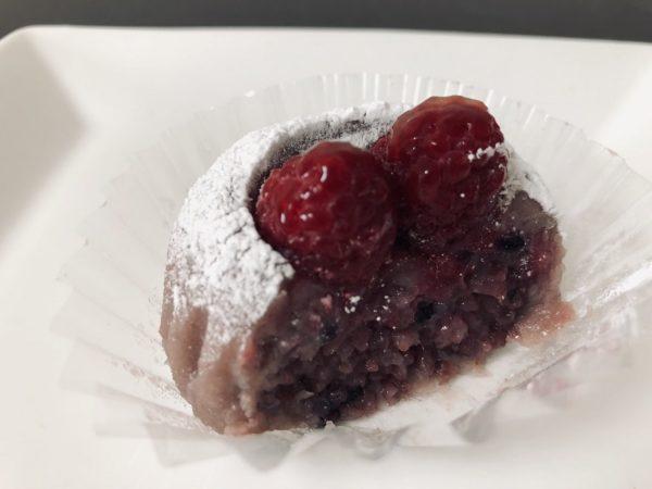 増田おはぎ苺とクランベリーおはぎ