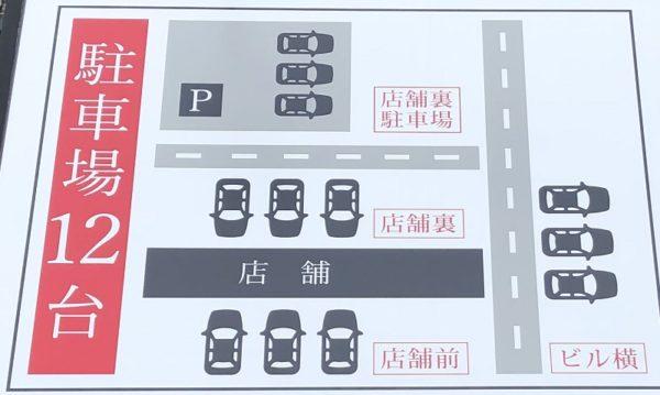 奥芝商店真駒内・駐車場