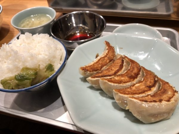 札幌王将苑餃子定食