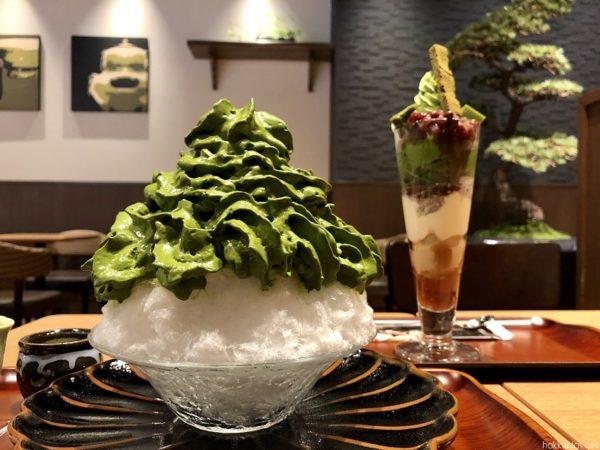 清水一芳園札幌かき氷とパフェ