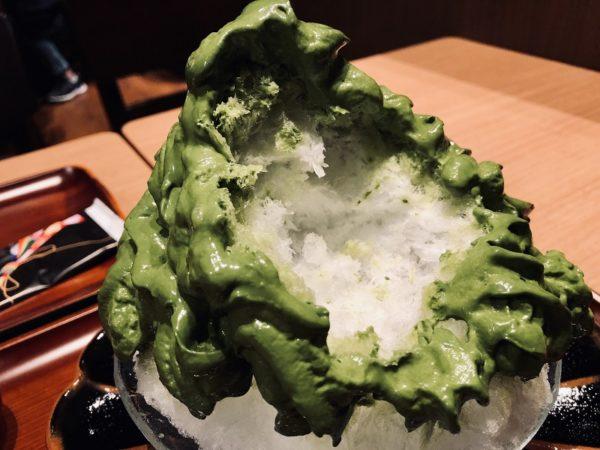 清水一芳園札幌かき氷