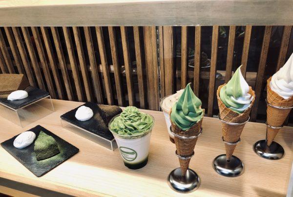 清水一芳園札幌ソフトクリーム