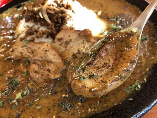 黒岩カリー飯店スパイスカレーパイタン肉