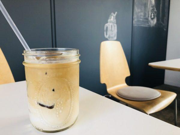 しろくまコーヒーしろくまラテアイス