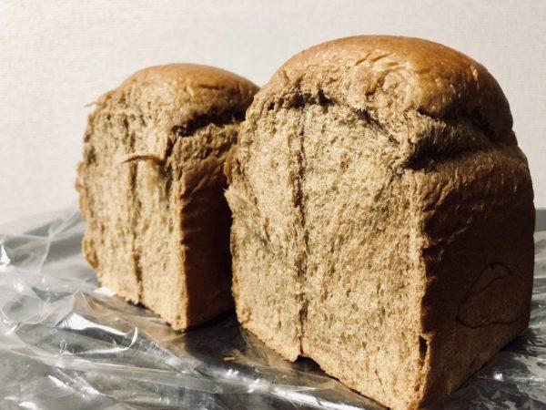 アンビシャス黒糖食パン生地