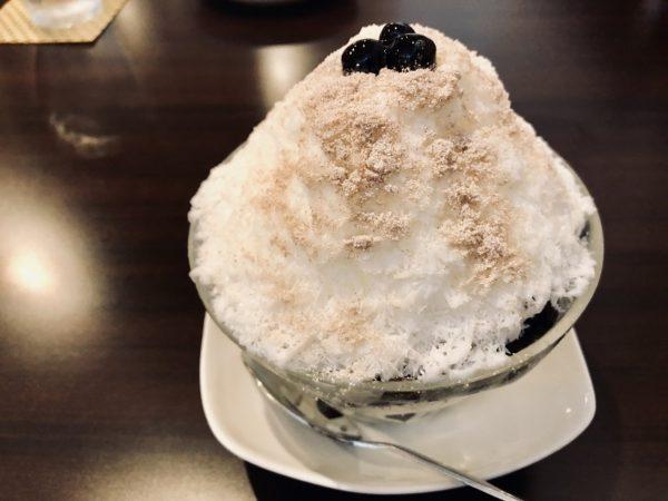 リアル台北タピオカかき氷