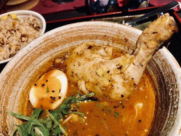 奥芝商店真駒内スープカレーチキン