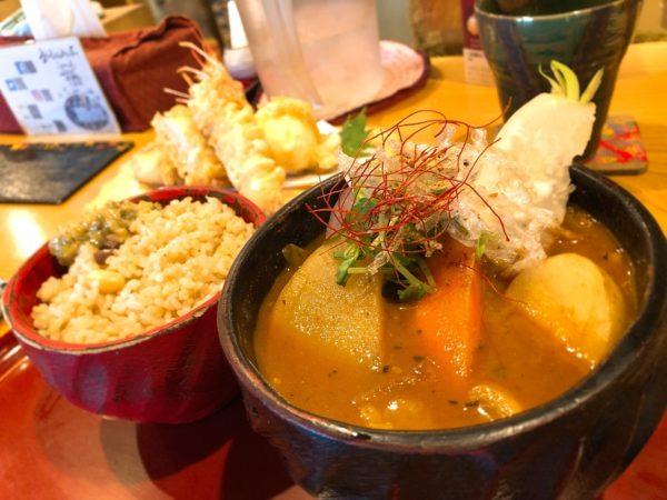 おくしばあちゃん天ぷらスープカレー