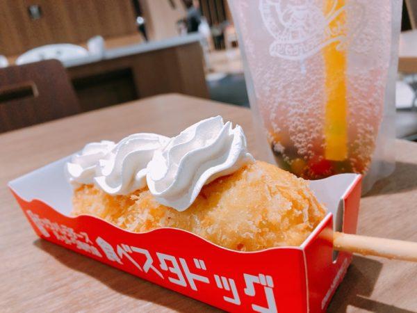 食べスタドッグチーズハットグセット