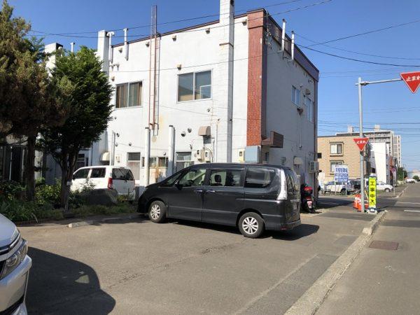エイトカリー35駐車場