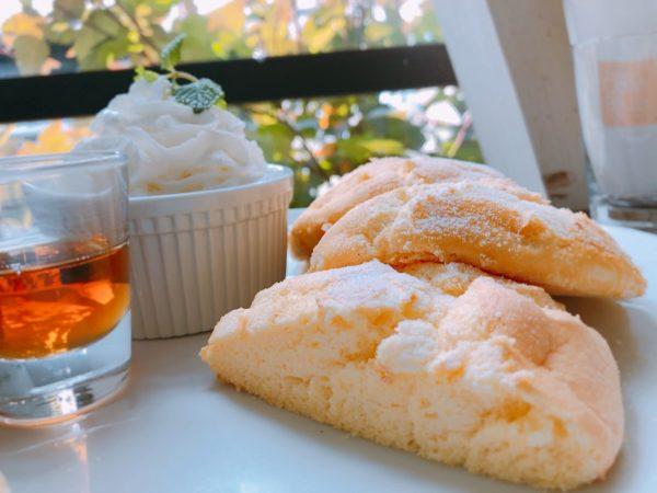 カフェブルーふわふわパンケーキ