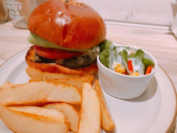 シムスレーンバーガースタンドハンバーガープレート