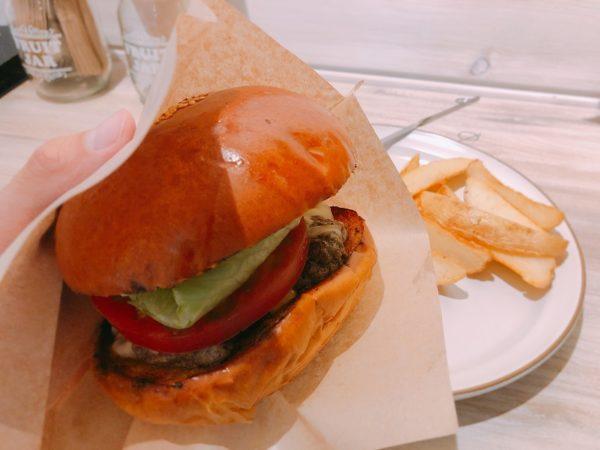 シムスレーンバーガースタンドハンバーガー袋