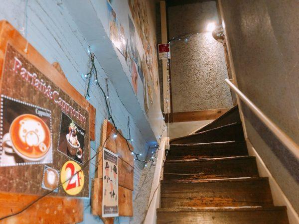 ジミーブラウン階段
