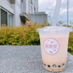 タピオカ桜華茶ミルクティー