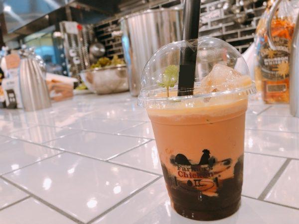 ファーマーズチキン札幌黒糖タピオカミルクティー