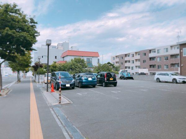 宇治園札幌苗穂店駐車場
